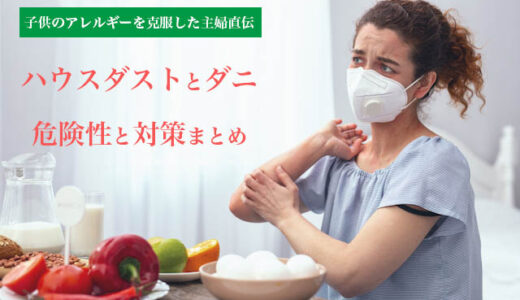 ハウスダストとダニの関係│アレルギーや人体に与える影響と対策・予防法