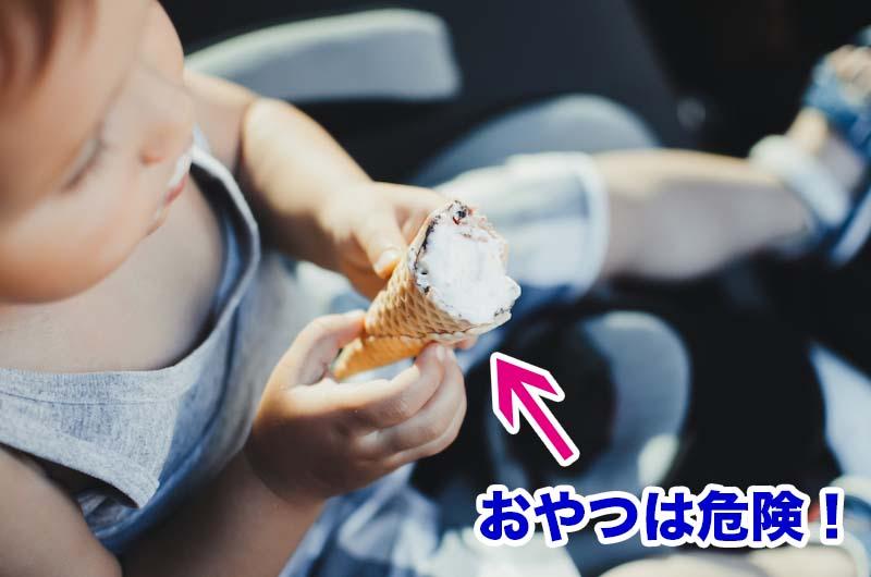 車内にはダニの餌が豊富