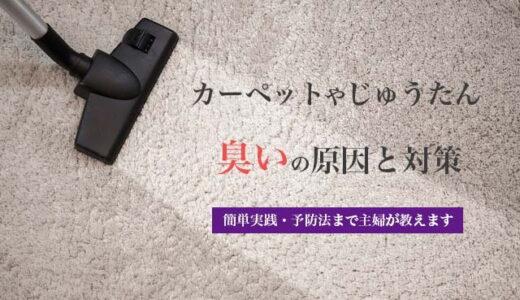 カーペット・じゅうたんが臭い原因は?|効果的なニオイ対策と予防法