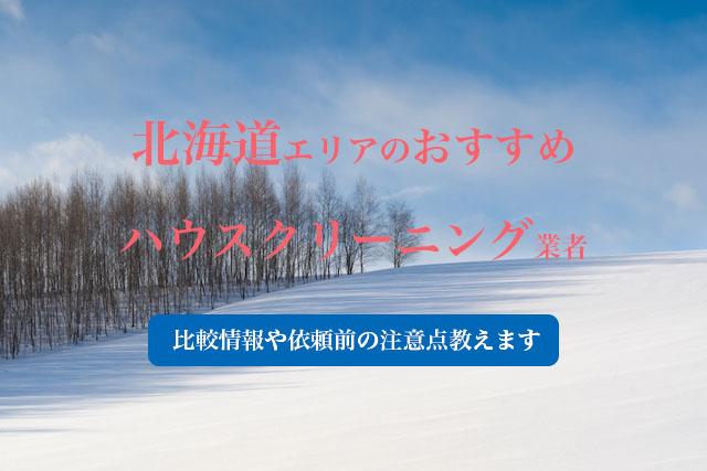 北海道のおすすめハウスクリーニング業者