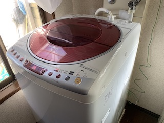 洗濯機清掃後⑥