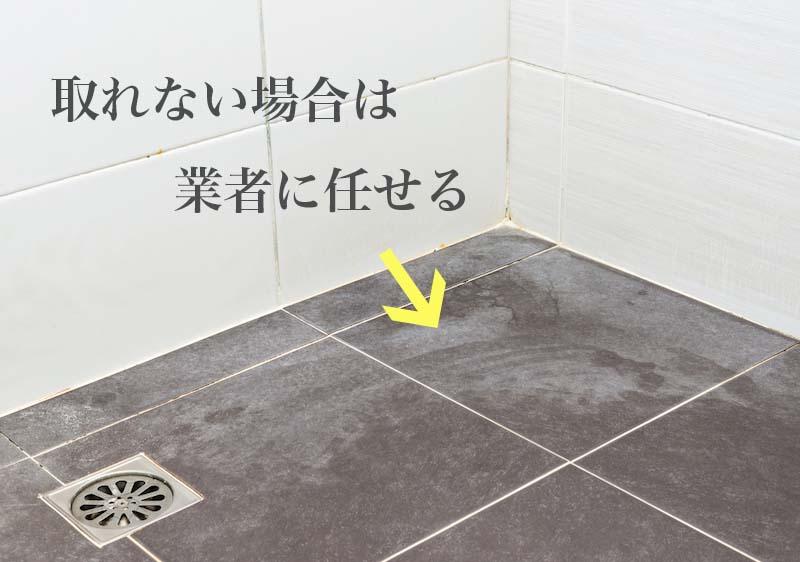 お風呂のカビ臭や汚れが取れない場合は業者にクリーニングを依頼する