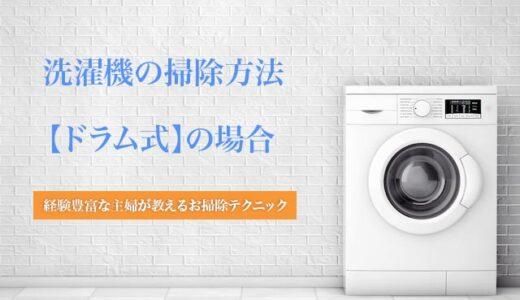 【主婦直伝】自分でできるドラム式洗濯機の掃除方法とクリーニング業者の選び方